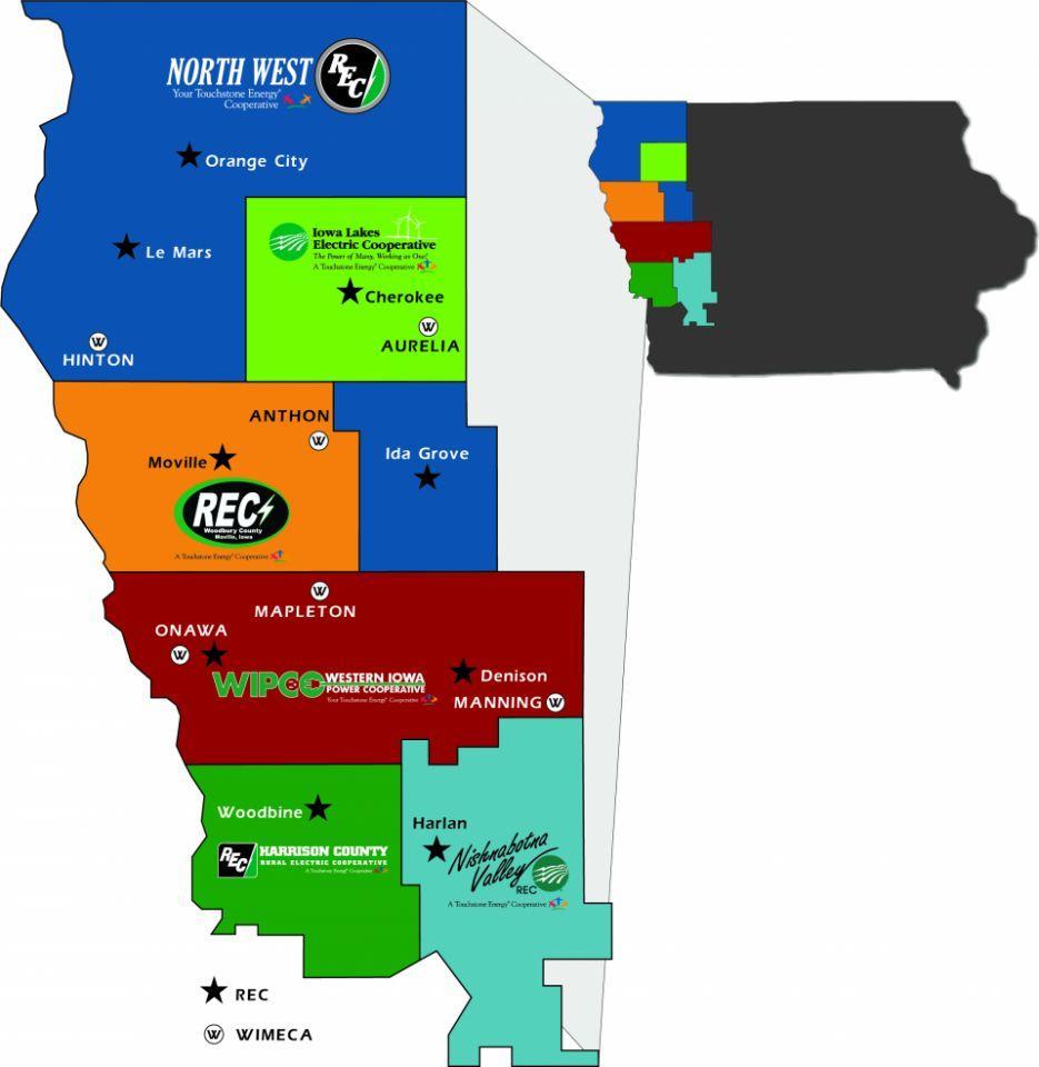 NIPCO member system map