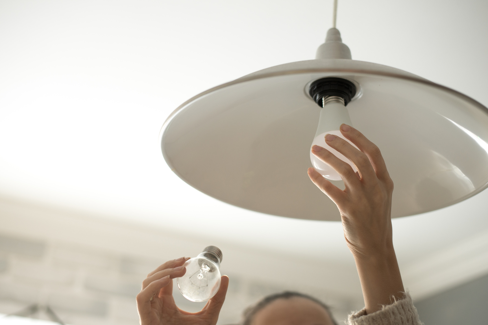 changing bulb to an LED