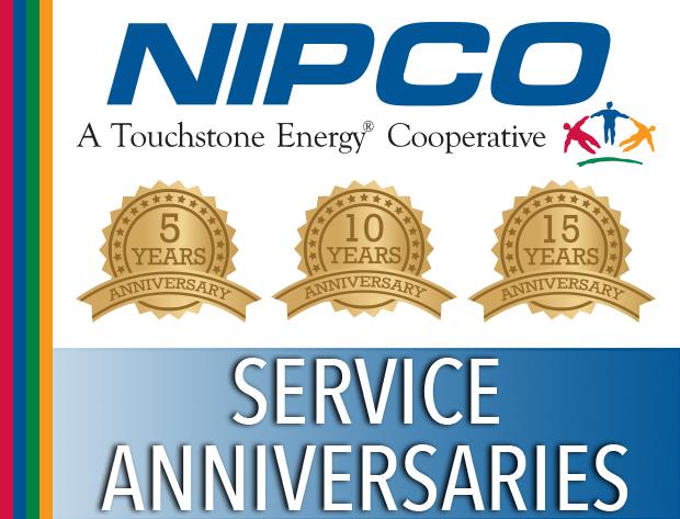 NIPCO Celebrates 2018 Service Anniversaries