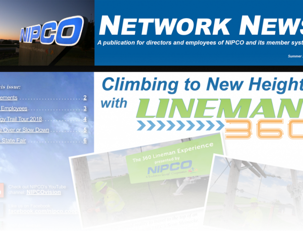 Image of NIPCO Network News cover page