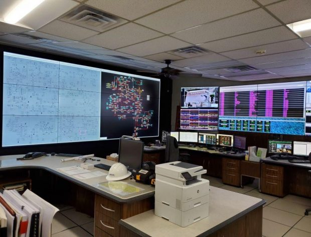 Photo image of the NIPCO Control Center after the remodel project.