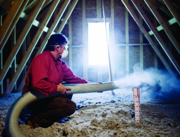 adding Insulation in an attic