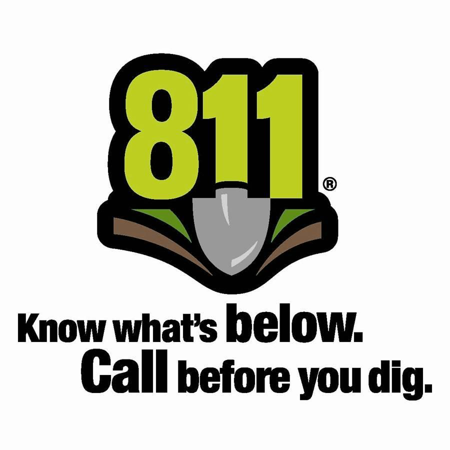 "picture of Iowa One Calls logo with the words ""know what's below.  Call before you dig""  written underneath it."