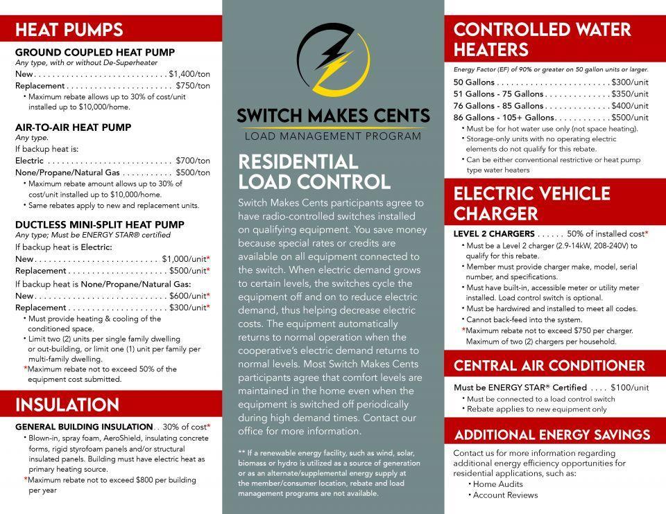 residential rebates page 2