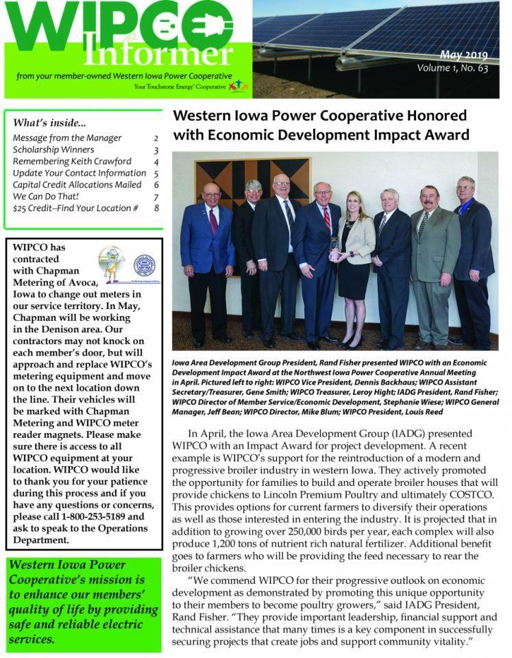 WIPCO Informer newsletter