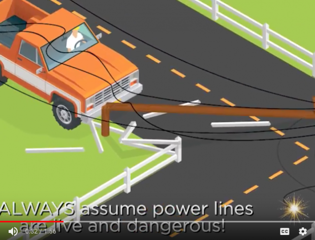 Safety Tips: When a Vehicle Crashes into a Utility Pole