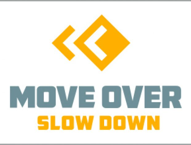 move over slow down logo