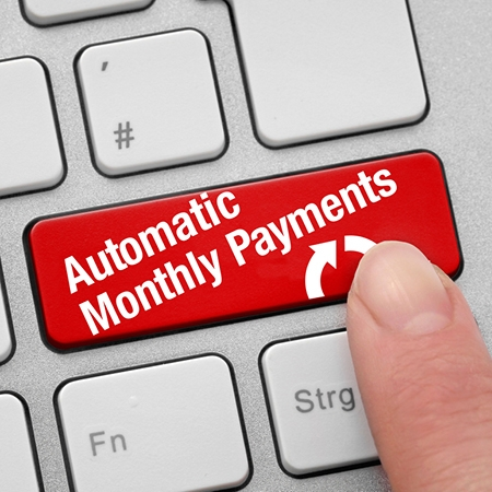 Automatic Monthly Payments