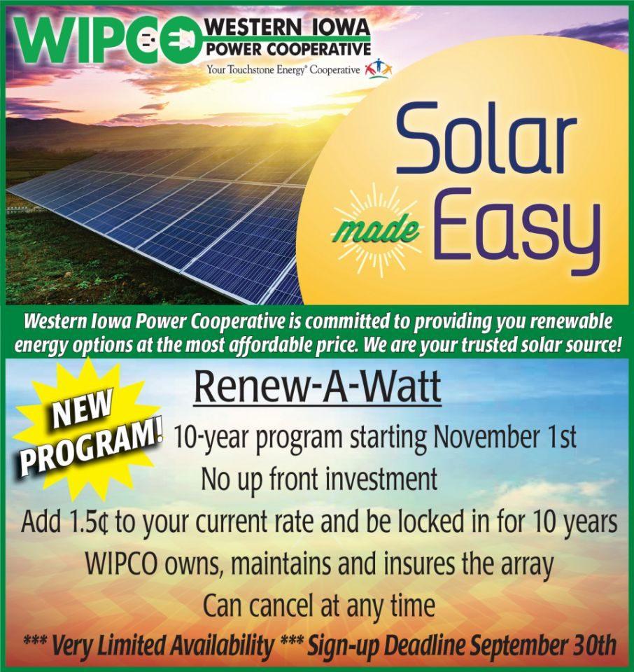 Renew-A-Watt program details