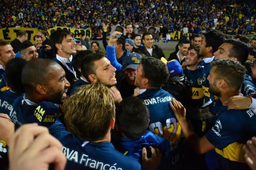 Boca salió campeón ante el equipo más ladron
