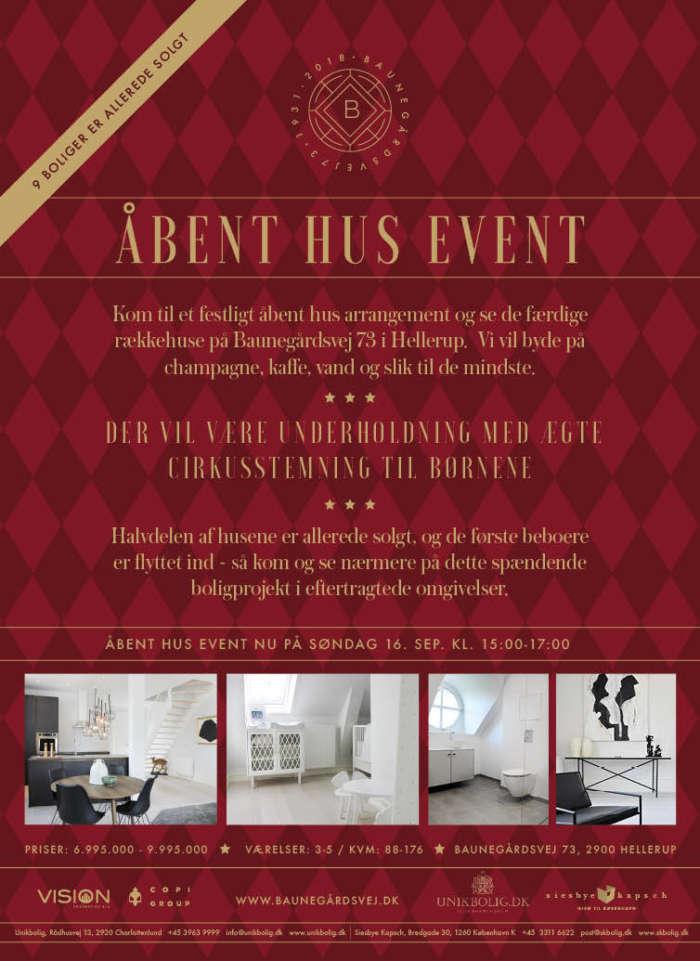 Bgv Event Flyer