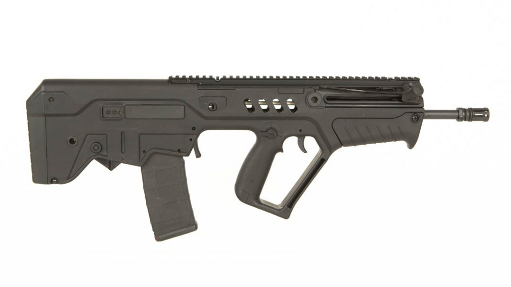 "Tavor black 16"" left hand 5.56 rifle"