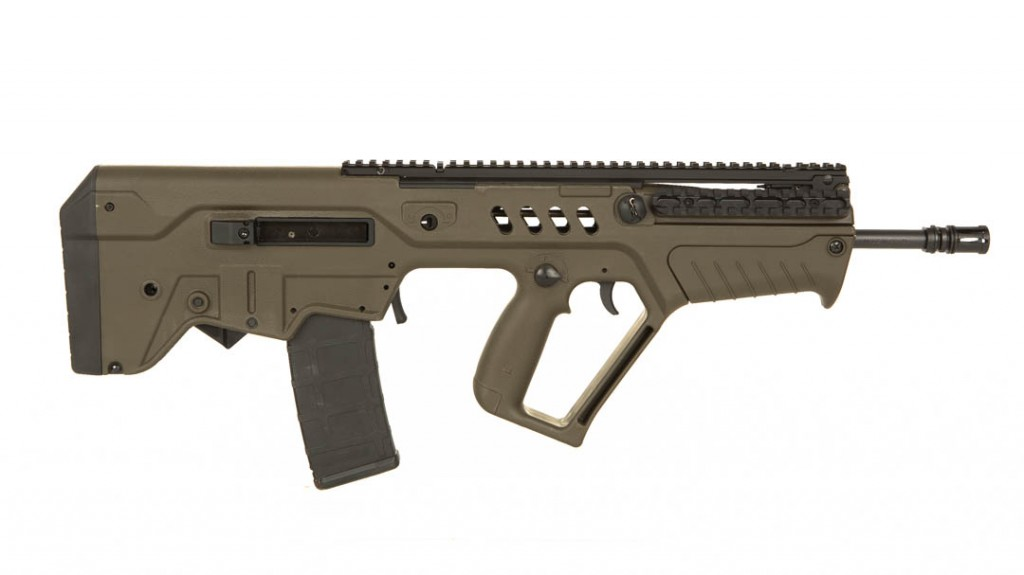 "IWI Tavor green 16"" 5.56mm"