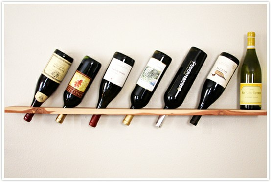 wine rack shelf
