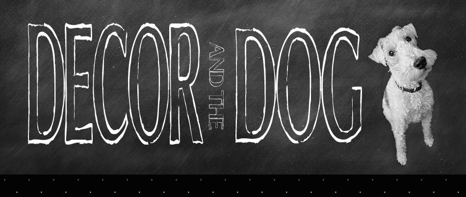 decor and dog