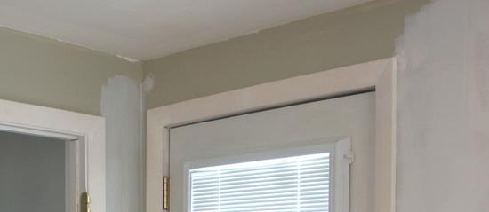 filled door trim