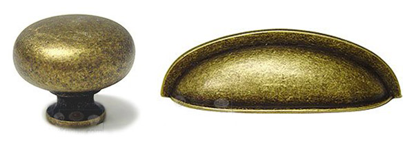 My Knobs Brass Pulls