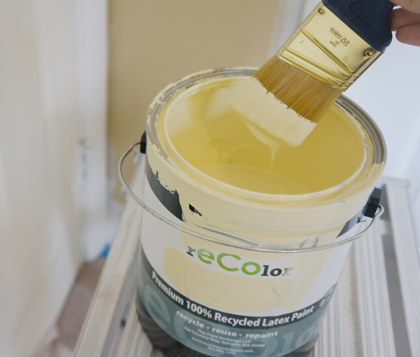 recolor recycled paint