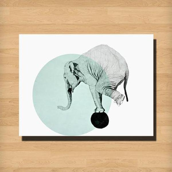 mkart elephant print