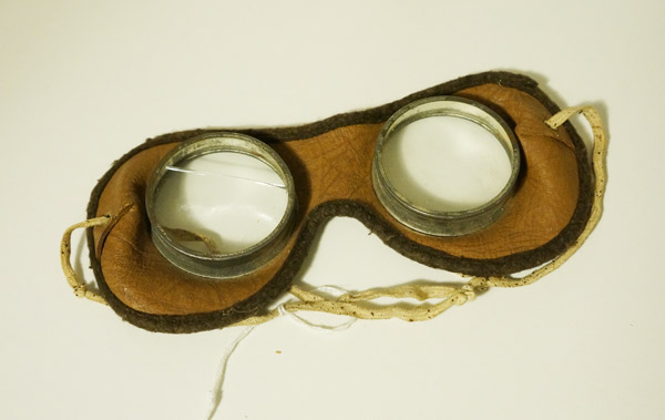 vintage driving goggles