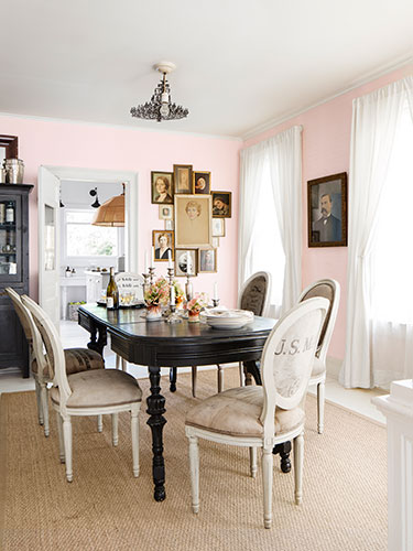 more is more dining room