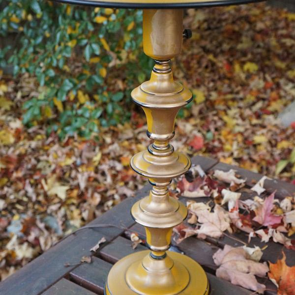 yellow lamp gold