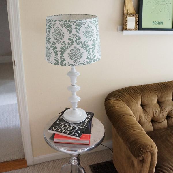 yellow lamp white