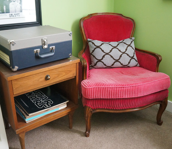 restore end table