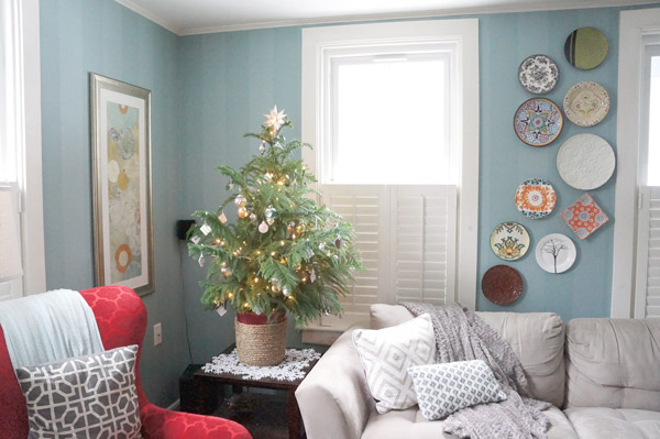 2013 christmas living room