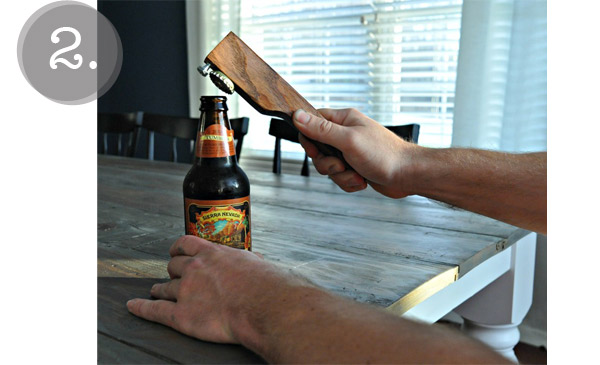 diy gift guide 2: beer bottle opener