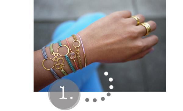 diy gift guide 1: macrame bracelets