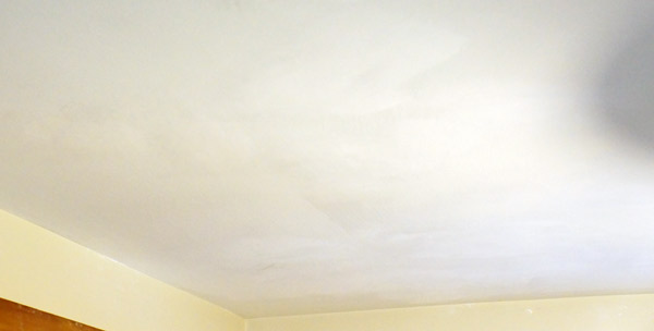 smooth ceiling