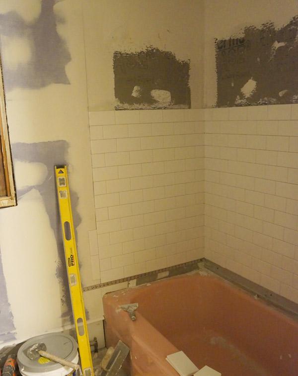 week 7 bathroom tile