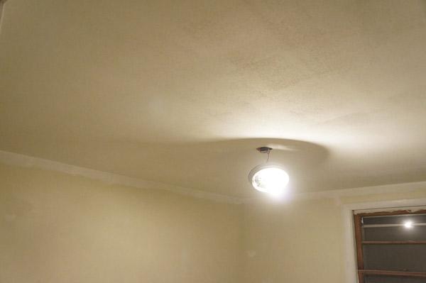 week 7 bedroom ceiling