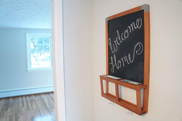 DIY ikea hack welcome home