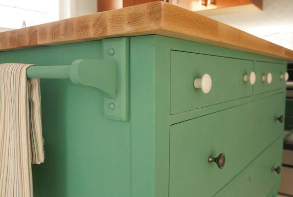 restore dresser island closeup