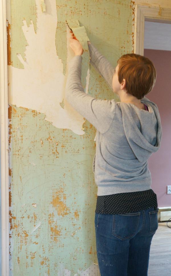 wallpaper scrape