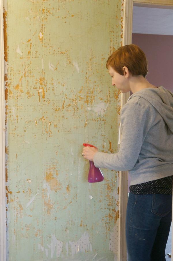 wallpaper spray