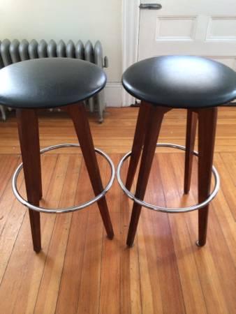 craigslist MCM bar stools
