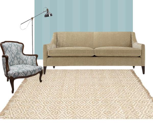 living room rug neutral