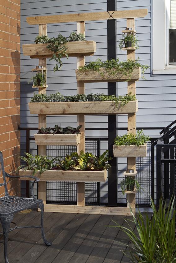 curbly vertical garden