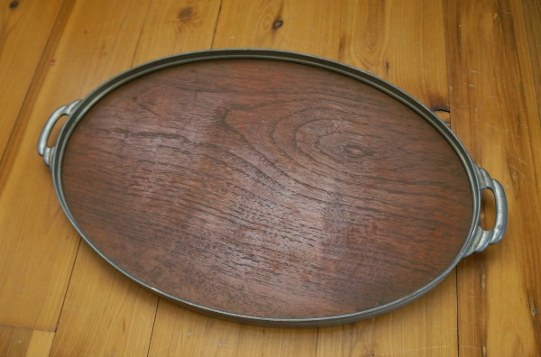 deco wood tray