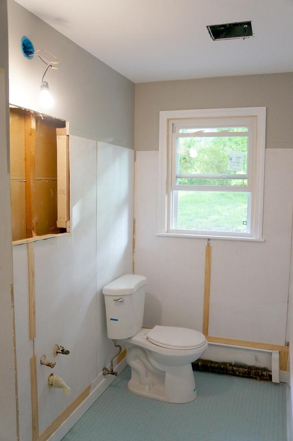 week 11 bathroom progress