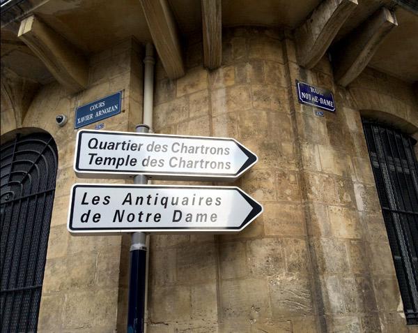 Les Antiquaires de Notre Dame, Bordeaux via Year of Serendipity