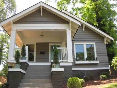 bungalow contrast trim