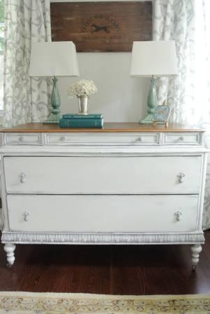 cl refinished dresser