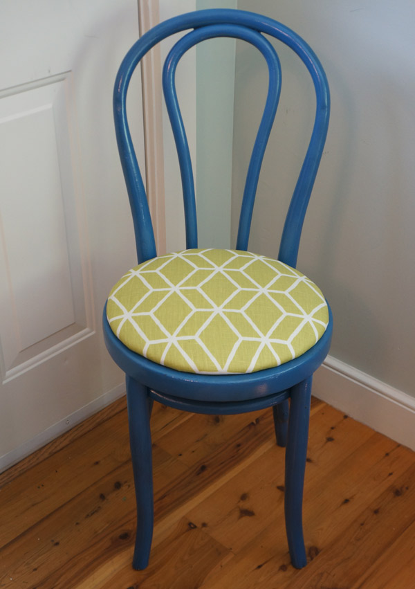 DIY 101: How to Recover a Dining Chair via Year of Serendipity