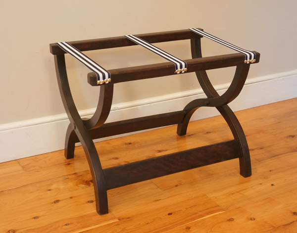 Vintage luggage rack after via Year of Serendipity