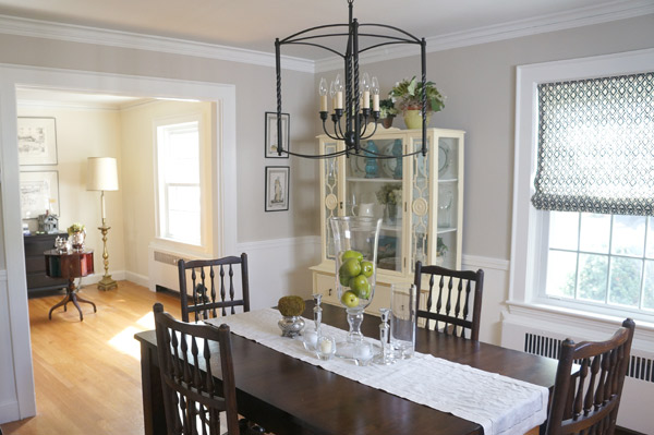 Susan's antique cape dining room via Year of Serendipity