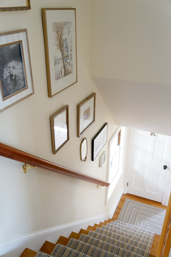 Susan's antique cape staircase via Year of Serendipity